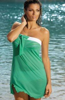 Marko Mia M-241 tunika plażowa zielona
