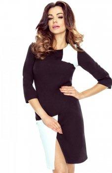 Bergamo 61-04 sukienka czarna