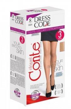 Conte Dress Code 8 rajstopy 3sztuki