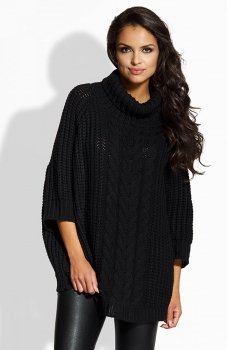 Lemoniade LS193 sweter czarny