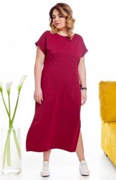 Cover TR2014 sukienka bordowa