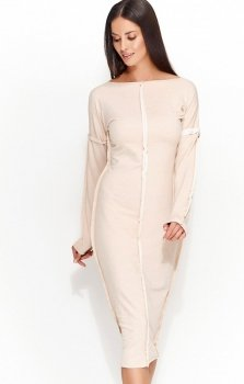 Numinou NU59 sukienka beżowa