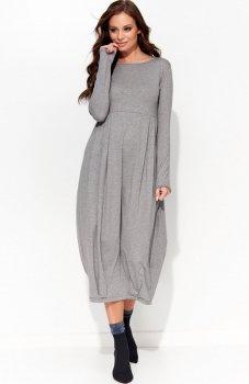 Folly F27 sukienka szara