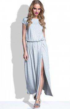 FIMFI I185 sukienka szara