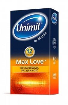 Unimil box 12 max love prezerwatywy