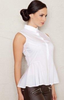 *Figl M357 koszula biała