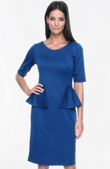 Mosali M027 sukienka szafirowa