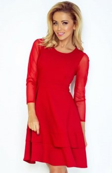 SAF 141-2 sukienka czerwona
