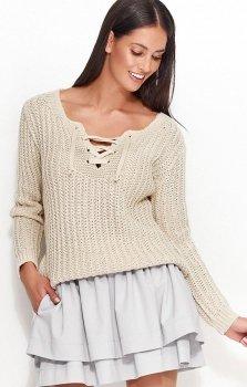 Numinou NU_S28 sweter beżowy