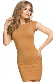 Tessita T179 sukienka piaskowa