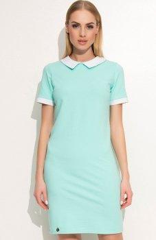 Makadamia M353 sukienka miętowa