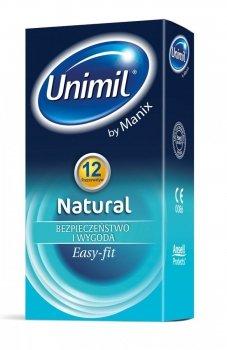 Unimil box 12 natural prezerwatywy