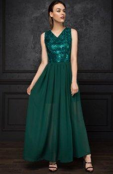 Monnom BG-DL sukienka zielona