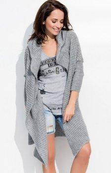 Numinou S10 sweter ciemny szary
