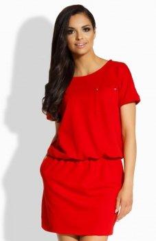 Lemoniade L201 sukienka czerwona