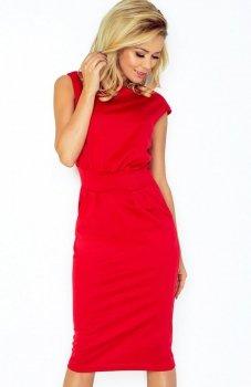 SAF 144-2 sukienka czerwona