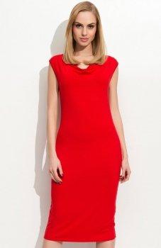 Folly F06 sukienka czerwona