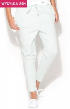*Katrus K187 spodnie miętowe