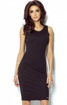 Ivon 206 sukienka czarna
