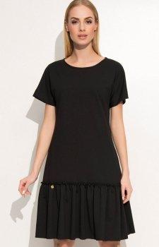 Makadamia M347 sukienka czarna