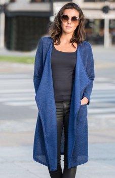 Lapasi L029 sweter niebieski