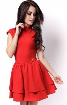 Ivon 200 sukienka czerwona
