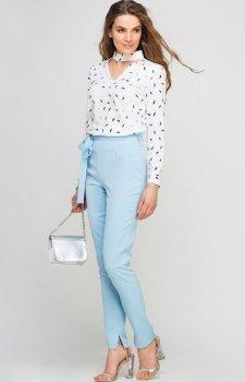 Lanti SD113 spodnie błękitne