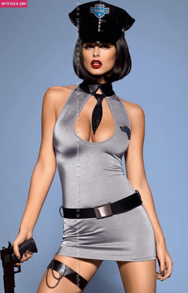 Obsessive Police Dress 2XL kostium