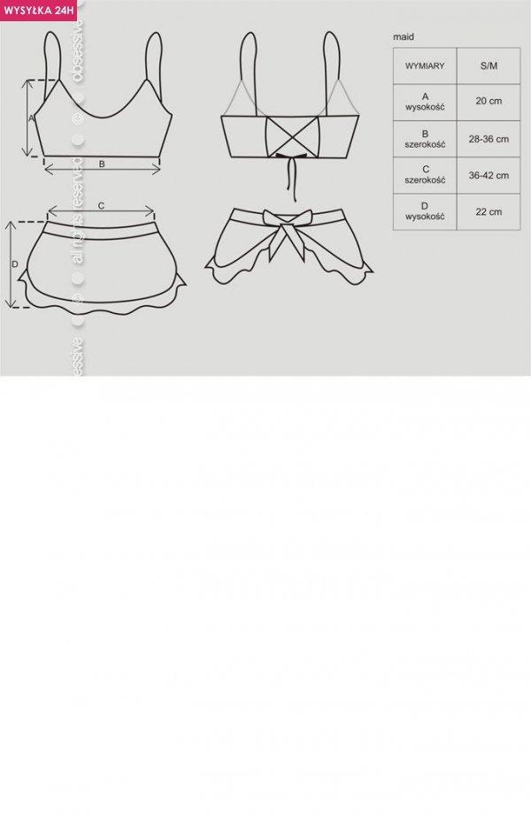Obsessive Maid kostium