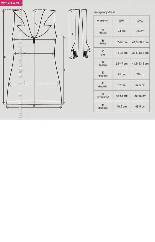 Obsessive Emergency Dress kostium