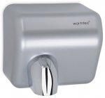 Suszarka do rąk Warmtec Barrel Flow ABS 2500W, automatyczna, srebrna, ABS