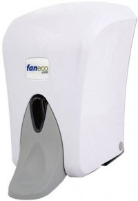 Dozownik (dystrybutor) łokciowy do płynów dezynfekcyjnych i mydła w płynie Faneco Pop (SA1000PG-WG) 1 litr z tworzywa ABS