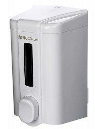 Dozownik (dystrybutor) mydła w płynie Faneco Eco (S500PE-W) 0,5 litra z tworzywa ABS