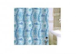 Zasłona prysznicowa tekstylna Bisk CORFU 08210