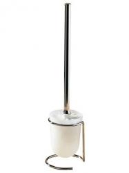 Szczotka WC Bisk 61100 ze stali nierdzewnej z wymienną końcówką