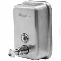 Dozownik (dystrybutor) mydła w płynie Faneco Top (S1000SBB) 1 litr ze stali nierdzewnej