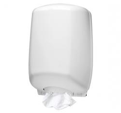 Pojemnik (podajnik) U-RO/1 na ręczniki papierowe w roli z wyciąganą tuleją, wykonany z tworzywa sztucznego ABS