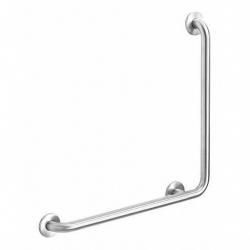 Poręcz kątowa 90° dla niepełnosprawnych Faneco S32UK6 SN M 60x60 cm stal nierdzewna