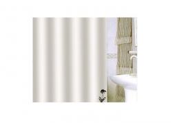 Zasłona prysznicowa tekstylna Bisk UNITY 00839 beżowa