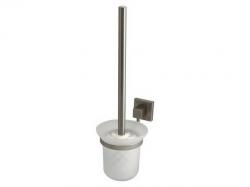 Szczotka WC Bisk Nord 00584 z uchwytem i pojemnikiem szklanym