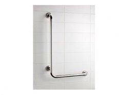 Kątowy uchwyt łazienkowy L Bisk Masterline PRO 04785 550 x 550 mm - atestowana poręcz łazienkowa