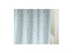 Zasłona prysznicowa Bisk PEVA DROPS 03910 180x200 cm