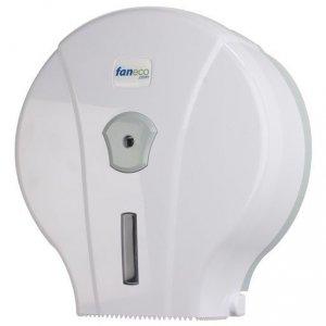 Pojemnik (podajnik) Faneco POP S (J18PGWG) na papier toaletowy w rolkach, ścienny, plastikowy ABS