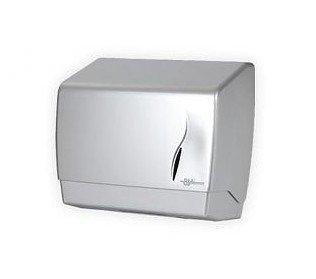Pojemnik (podajnik) Bisk Masterline (00398) na ręczniki papierowe ZZ w listkach, ścienny, z tworzywa ABS