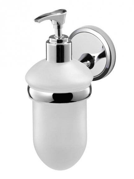 Łazienkowy dozownik mydła Bisk Seduction 03579 z uchwytem