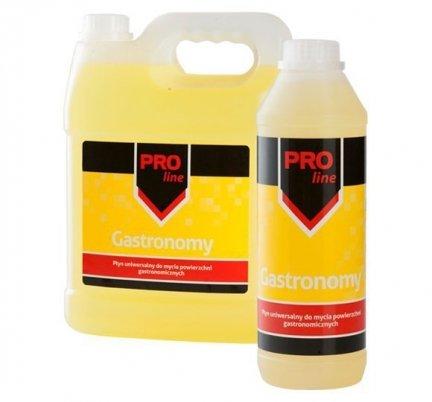 Płyn uniwersalny do mycia powierzchni gastronomicznych PRO Line GASTRONOMY 1 l cytrusowy
