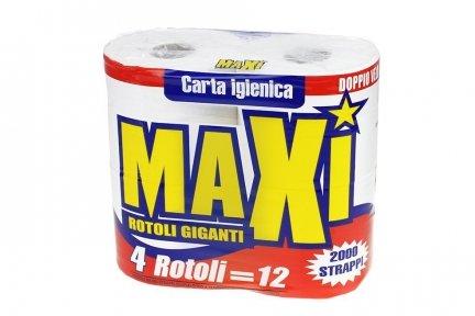 Papier toaletowy MAXI GOLD 4 małe rolki