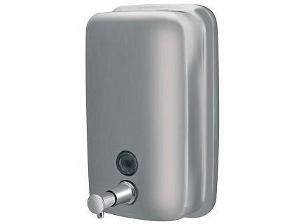 Dozownik (dystrybutor) mydła w płynie Bisk Masterline (01417) 1 litr ze stali nierdzewnej