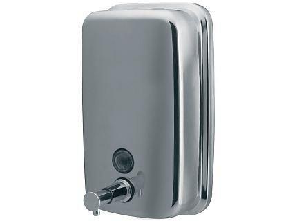 Dozownik (dystrybutor) mydła w płynie Bisk Masterline (01416) 1 litr ze stali nierdzewnej