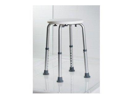 Taboret łazienkowy dla niepełnosprawnych Bisk Masterline PRO 04813 - atestowany z regulacją wysokości